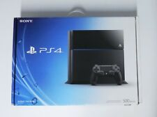 Sony PlayStation 4 500GB (2014 Launch Edition) Jet Black Console w Control & Box