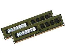 2x 4gb 8gb ddr3 1333 MHz RAM ECC para HP MicroServer n40l pc3-10600e