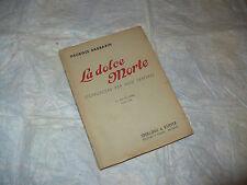 GEORGES BARBARIN LA DOLCE MORTE CONOSCERE PER NON TEMERE 1942 SPERLING & KUPFER