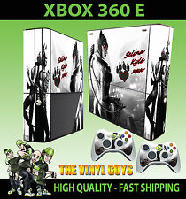 XBOX 360 E CATWOMAN GOTHAM GIRL ARKHAM BATMAN SKIN SUPERSLIM & 2 PAD SKIN