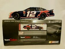 Jeremy Mayfield Team Caliber 1:24 Diecast  2001 #12 Mobil 1 Ford Taurus 1/4,020