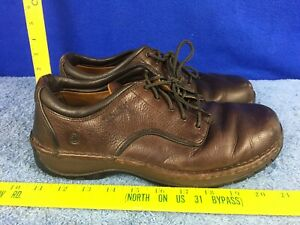 Red Wing 8704 Oxford Brown leather Work Shoes size 9.5 EE