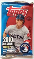 2010 Topps Baseball Series 2 HOBBY Pack 10-card SEALED Auto/Relic?