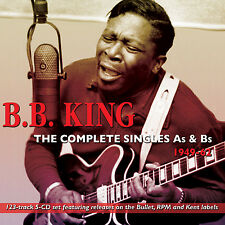 BB KING New Sealed COMPLETE SINGLES As & Bs 1949-62 5 CD BOXSET