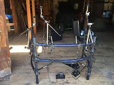 Roland Vdrums Rack System witn Cables and Nylon Travel Bag