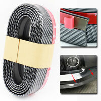 Universal Car Bumper Lip Splitter Body Spoiler Protector Carbon Fiber 2.5M x 6CM