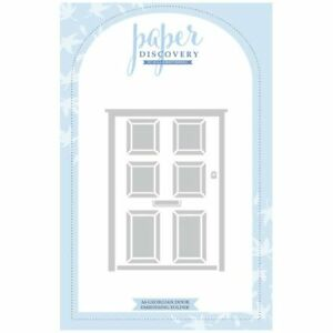 Paper Discovery A6 Embossing Folder Georgian Door