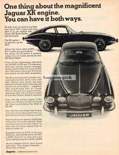 1967 Jaguar XKE Coupe 420 Sports Sedan Vtg Print Ad