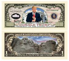 Pack of 25 - Donald Trump 2020 Re-Elect Presidential Novelty Dollar Bill Legacy