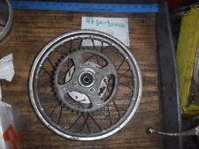 HONDA 1974 MR50 MR 50 Elsinore  AHRMA rear wheel rim sprocket