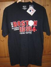 5a721b1f4f2 Genuine Merchandise Men s Boston Red Sox Spring Training Blue T shirt Top  NEW