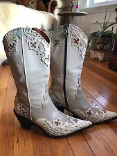 donald pliner Western Couture Cowboy boots Ladies 8.5