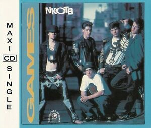 New Kids On The Block Maxi CD Games (The Kids Get Hard Mix) - Europe (EX/EX)
