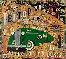 STEVE EARLE - TERRAPLANE: LIMITED EDITION CD & DVD SET (February 16th 2015)