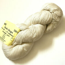 Luxurious Skaska Designs Silk Cashmere Lace Yarn 1650 yds natural milk color Nwt