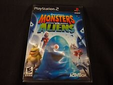 Monsters vs. Aliens (Sony PlayStation 2, 2009) Brand New Factory Sealed