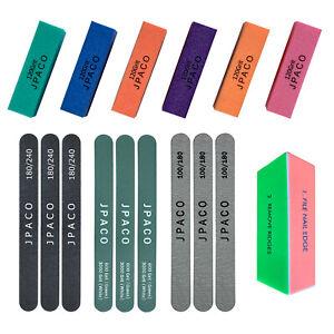 Manicure Set 16PC (6 Block buffers, 6 Nail Files, 3 Shine Files, 1 Magic Buffer)