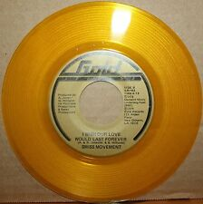 SWISS MOVEMENT One In Million *I WISH LOVE WOULD LAST* Modern Soul 45 on GOLD 02