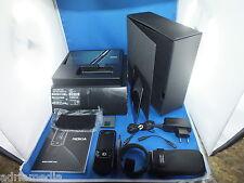 ORIGINALE Nokia 8600 LUNA BLACK NERO dispositivo esposizione come nuovo Lifetimer 2:55
