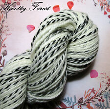 Wool Worsted Yarn WILD THING 100% Highland Wool 218yds Undyed Natural Colors