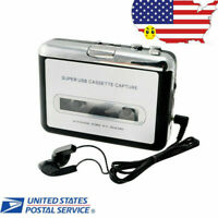 USB Cassette Tape to MP3 iPod CD Converter Capture Audio Music Player Walkman US