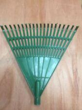 1x PLASTIC LAWN RAKE HEAD FOR LEAF LEAVES GRASS CUTTING, LAWN GARDEN TOOLS