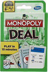 Monopoly Deal Card Game - **Green Box Version**