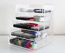 Large Clear Acrylic Make Up Cosmetic Beauty Jewellery Organiser Storage 5 Tier