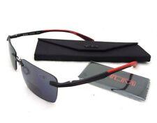 New AUTHENTIC Tumi Richmond Sunreaders +1.5 Reading Sunglasses Black/Red