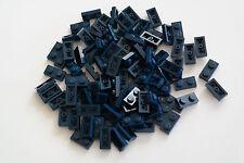 100 Lego Platte Platten 1x2 dunkelblau NEU 3023