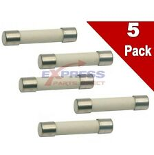 5 PACK EXP20A Microwave Ceramic Fuse, Fast Blow, 20A, 250V Replaces 14QBP20CFB