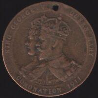 1911 King George V Belfast Coronation Medal | Pennies2Pounds