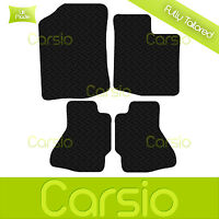 Black Fully Tailored Rubber Car Floor Mats For Toyota Aygo 2005 to 2014