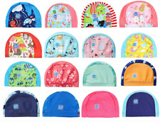 Splash About Swim Cap Hat Baby Toddler Child Fabric Lycra 0-18m 18m+ NEW DESIGNS