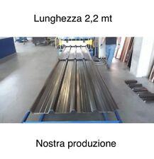 LAMIERA GRECATA COPERTURA 1010 MM Lunghezza 2200 MM Colori Tdm/rs/Bg