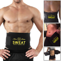 Women Body Shaper Slimming Girdle Sweat Belt Waist Training Cincher Men Corset