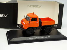 Norev 1/43 - Mercedes Unimog U411 Travaux Publics