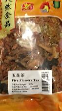 100g packet Dried Five Flowers Herbal Tea, Chinese health 5 CHINA DRINK HERB