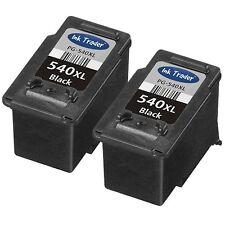 2x Canon PG-540XL Black Ink Cartridges for Canon Pixma MX455