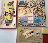 Vintage 1981 Pinocchio Board Game Parts Pieces Incomplete  Walt Disney See Pics
