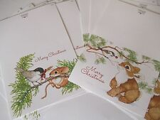 Current Critter Christmas Cards Bunny Mouse Bird Critter Animal Christmas Cards