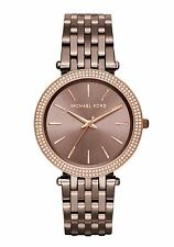 Michael Kors Women's Darci Sable Ion-Plated Stainles Steel Bracelet Watch MK3416