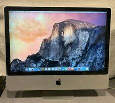 iMac 24 Inch Intel Core 2 Duo 3.06 Early 2008 MB398LL/A 1TB 4GB Yosemite