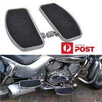 Universal Motorcycle Front Rear Foot Boards Floorboards For Honda Yamaha Suzuki