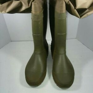 Hodgman Hip Waders Cleated Footboot Men's Size 12
