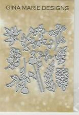 Gina Marie designs metal cutting dies - Greenery - Leaves Branches vines