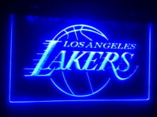 """Los Angeles Lakers 12"""" x 8"""" Led Neon Sign mancave beer bar pub"""