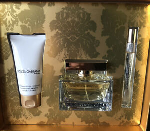 Dolce & Gabbana THE ONE 3 Piece EDP Gift Set New in Box
