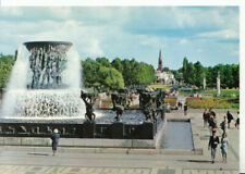 Norway Postcard - Oslo - Vigeland Sculpture Grounds In The Frogner Park - 9812A
