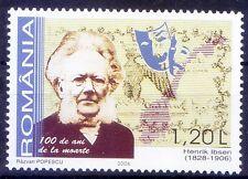 Romania 2006 MNH, Henrik Ibsen Norwegian playwright Poet - H23